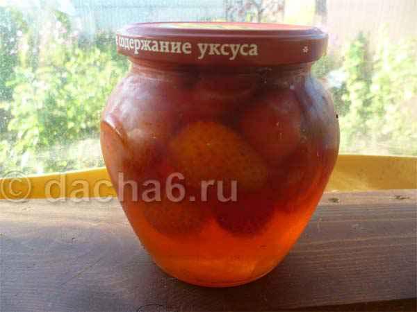 Клубничное варенье с целыми ягодами: рецепт на зиму