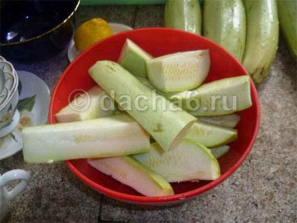 Рецепт маринованных кабачков цукини на зиму