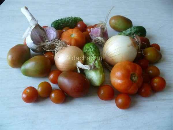 Самые вкусные овощи